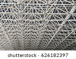 steel roof systems | Shutterstock . vector #626182397