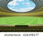 3d render of a round australian ... | Shutterstock . vector #626198177