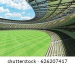 3d render of a round australian ... | Shutterstock . vector #626207417