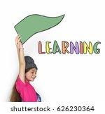 back to school education study...   Shutterstock . vector #626230364