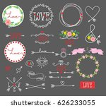 set of elements for design  ... | Shutterstock .eps vector #626233055