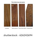 teak burmese  rosewood honduras ...   Shutterstock . vector #626242694