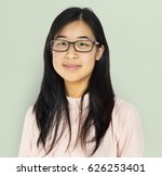 young adult asian girl smiling... | Shutterstock . vector #626253401
