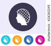 single vector round hairnets... | Shutterstock .eps vector #626262245