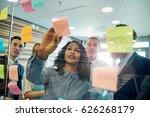 young black businesswoman... | Shutterstock . vector #626268179
