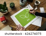 save the planet sustainable... | Shutterstock . vector #626276075