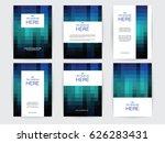 modern business corporate... | Shutterstock .eps vector #626283431