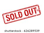 sold out red grunge stamp  sale ...