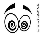 cartoon eyes expression | Shutterstock .eps vector #626295434