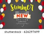 summer new collection banner....   Shutterstock .eps vector #626297699