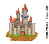 fairy tale castle | Shutterstock .eps vector #62630185