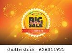 festival sale template design... | Shutterstock .eps vector #626311925