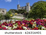 A View Of Rochester Castle Wit...