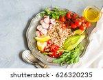 healthy food concept   rustic...   Shutterstock . vector #626320235