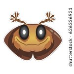 beetle mask  for children's... | Shutterstock .eps vector #626336921