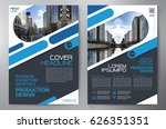 business brochure. flyer design.... | Shutterstock .eps vector #626351351