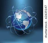 blue high detailed... | Shutterstock .eps vector #62635147
