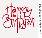 """happy birthday"" text  playful... 