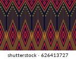 geometric ethnic pattern... | Shutterstock .eps vector #626413727