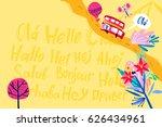 vector template for your design. | Shutterstock .eps vector #626434961