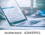 developing programming and... | Shutterstock . vector #626435921