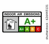 indoor air emissions vector...   Shutterstock .eps vector #626445131