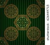 realistic abstract golden...   Shutterstock .eps vector #626449715