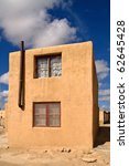 Small photo of Generic Adobe building in Sky City - Indian Pueblo, Acoma , New Mexico, USA