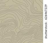topographic map background... | Shutterstock .eps vector #626467229