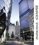 famous skyscrapers in the... | Shutterstock . vector #62646988