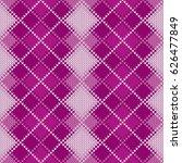 argyle knitted pattern. retro...   Shutterstock .eps vector #626477849