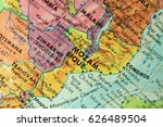 old print map   Shutterstock . vector #626489504