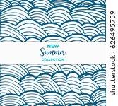 summer discount cards design....   Shutterstock .eps vector #626495759