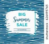 summer discount cards design....   Shutterstock .eps vector #626495765