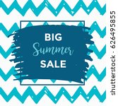 summer discount cards design....   Shutterstock .eps vector #626495855