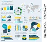 infographics elements... | Shutterstock .eps vector #626496989