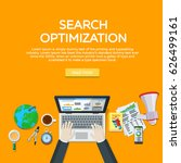 workplace expert in seo. web... | Shutterstock .eps vector #626499161