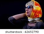 a studio photo of a woman... | Shutterstock . vector #62652790