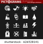 Alternative Energy Icons Set...