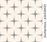 vector monochrome seamless... | Shutterstock .eps vector #626528435