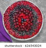 Berry Round Pie Tartlet Made...