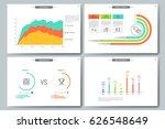 minimal infographic brochure... | Shutterstock .eps vector #626548649