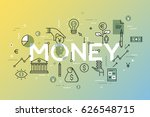 creative infographic banner... | Shutterstock .eps vector #626548715