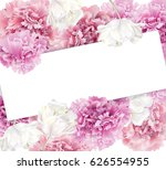 vector horizontal banner with... | Shutterstock .eps vector #626554955