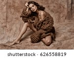 vogue style photo of unusual... | Shutterstock . vector #626558819