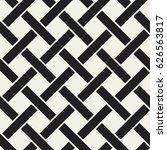 seamless woven stripes lattice... | Shutterstock .eps vector #626563817