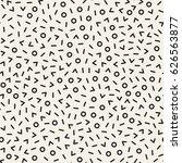 retro geometric line shapes... | Shutterstock .eps vector #626563877