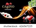 Design Casino Banner With...