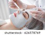 face peeling mask  spa beauty... | Shutterstock . vector #626578769