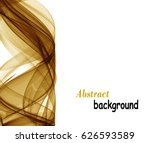 abstract background with gold... | Shutterstock .eps vector #626593589